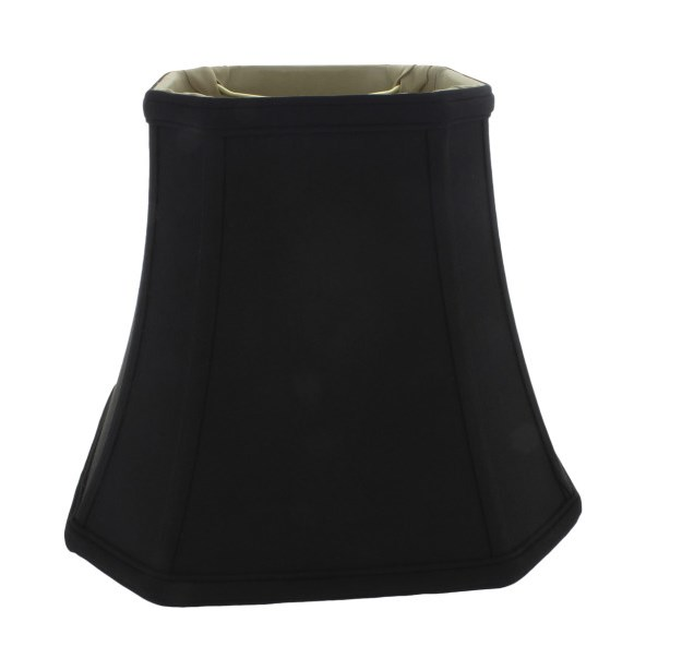 Black lampshades