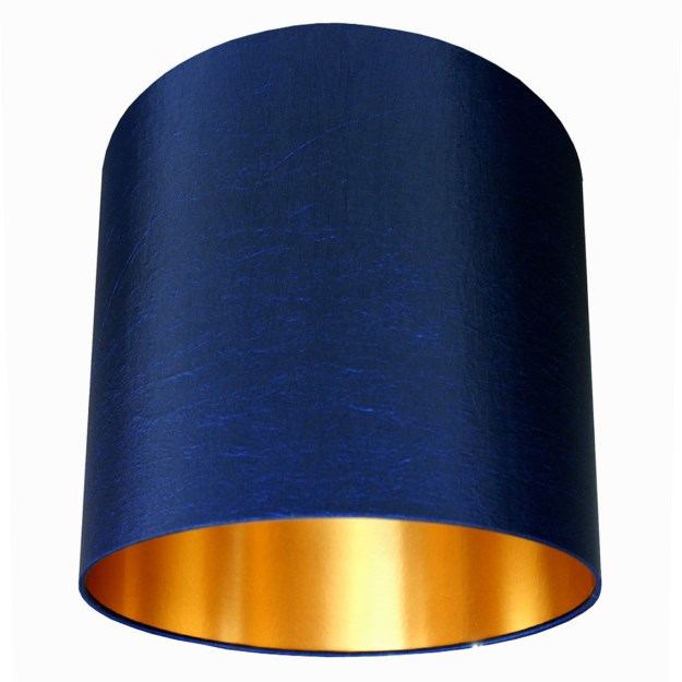 Blue lampshades
