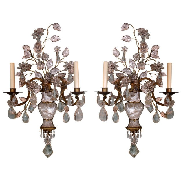 Chandelier sconces wall