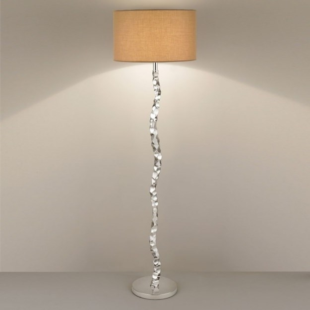 Floor lamp shades drum