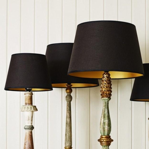 Floor lamp shades drum
