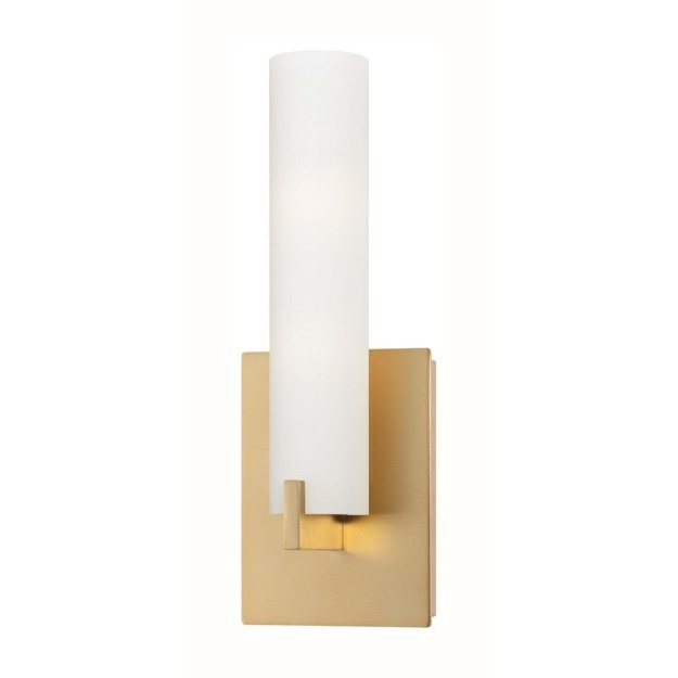 Gold wall sconces