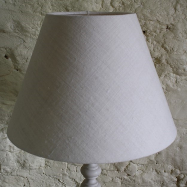 Linen lampshades