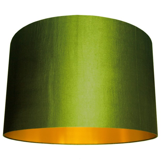 Silk lampshades
