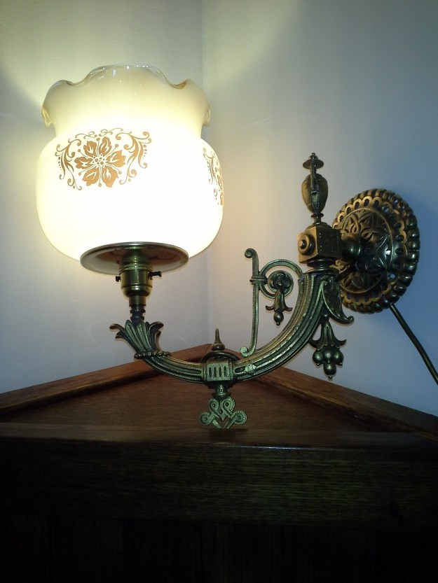 Victorian wall sconces