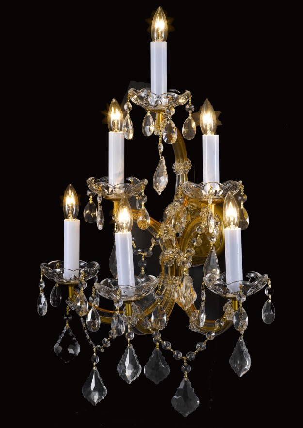 Wall chandeliers