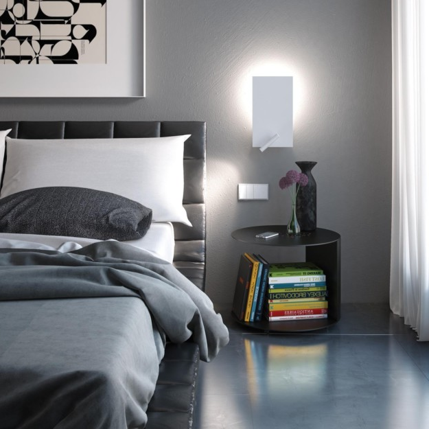 Fluorescent Wall Sconce
